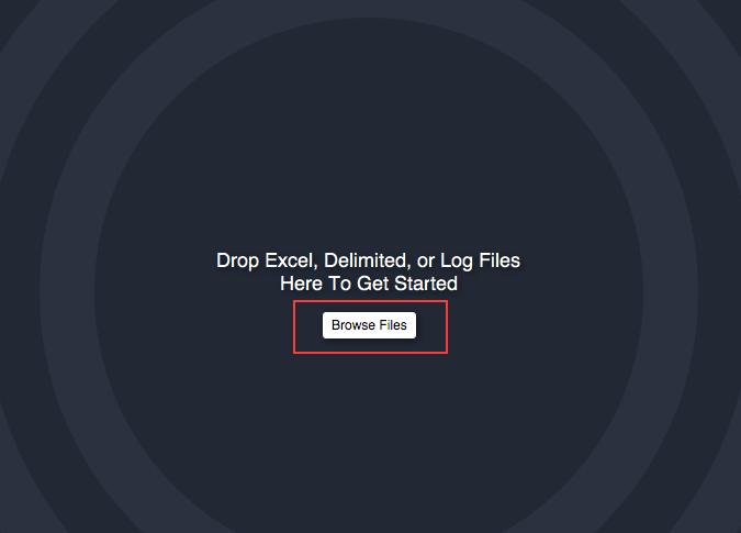 amazon redshift csv upload file drop zone