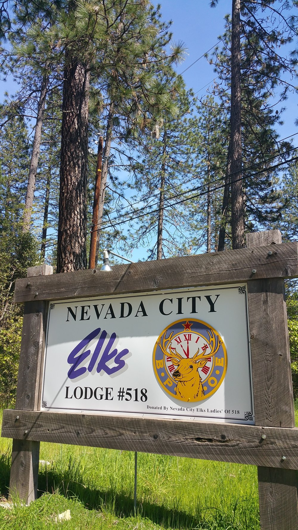 Nevada City Elks Club