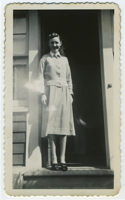 found photgraph, untitled, circa 1940's