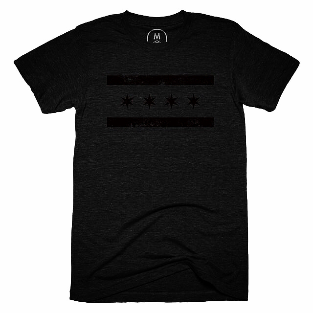 ONLY 3 DAYS LEFT!!!! 8 shirts have sold but 4 more need to be bought for them to get printed. If you want one DM me for a code to get 10%OFF. Shirt link in bio! #fashion #chicago #chi #chitown #fresh #style #freshthreads #blackout #cottonbureau #screenprinting #tshirt #blackonblack #design #graphicdesign #graphic #vector #chicagoflag #blackfoil