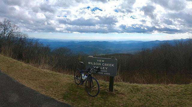 Awesome ride today long the Blue Ridge Parkway. #ride #cycling #felt #winter #blueridgeparkway #blueridgemountains #endureitsports