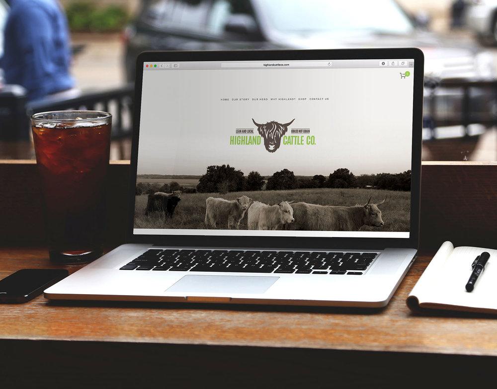 Highland Cattle Co. Website