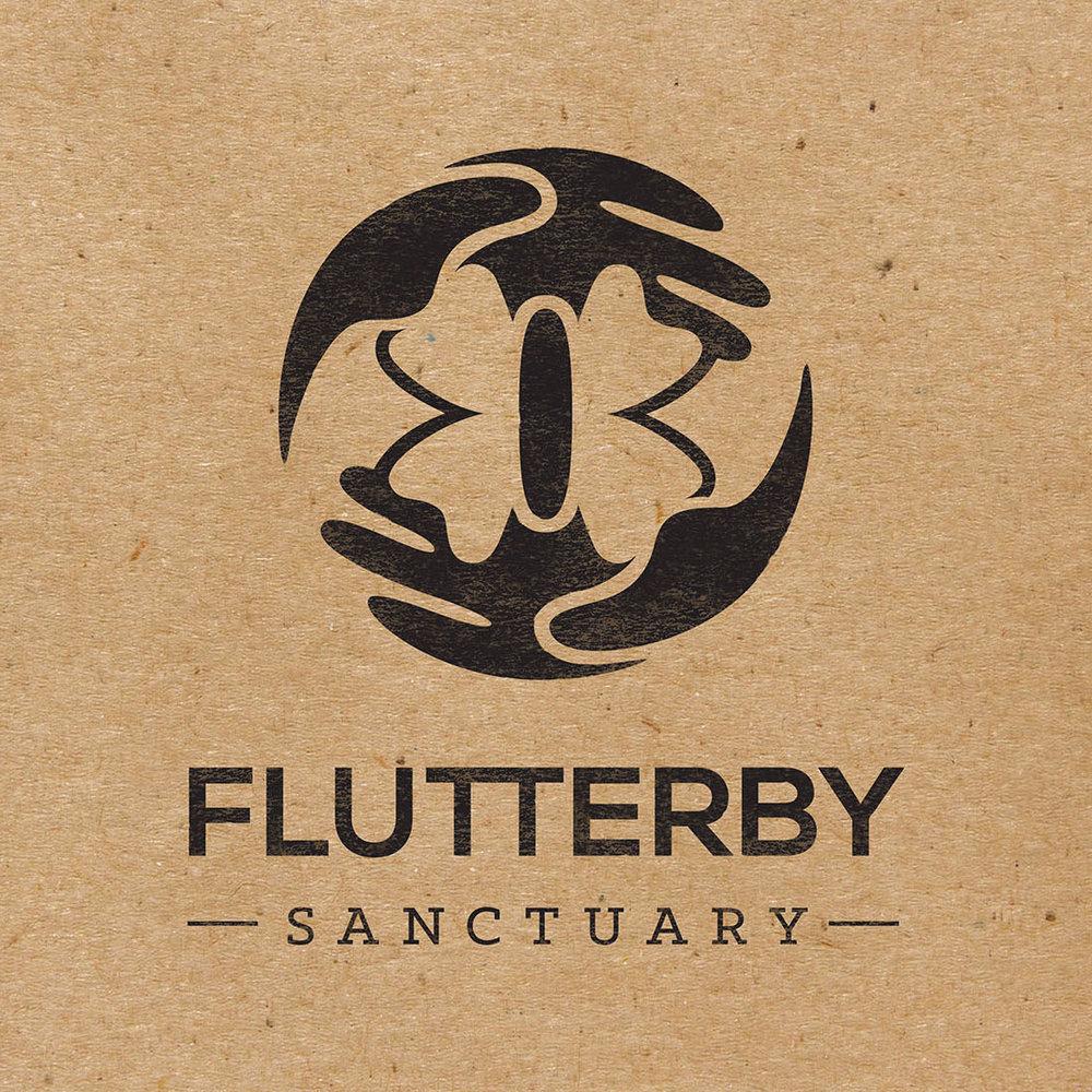 Flutterby Sanctuary Logo