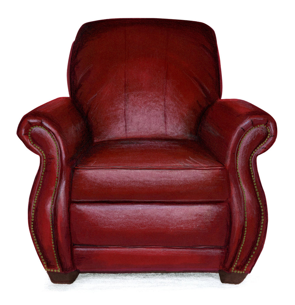 Leather Chair Illustration