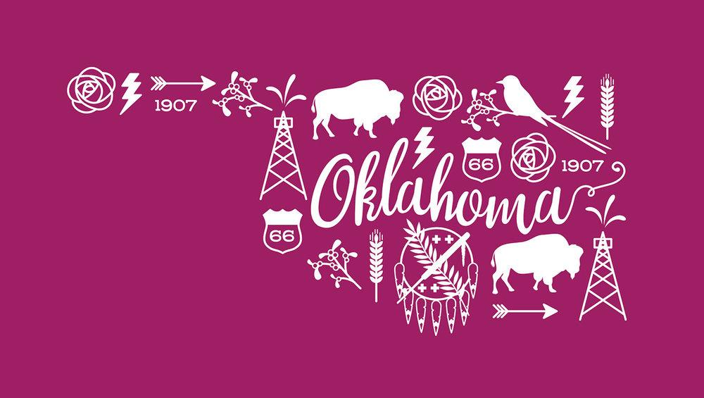 Oklahoma Illustration