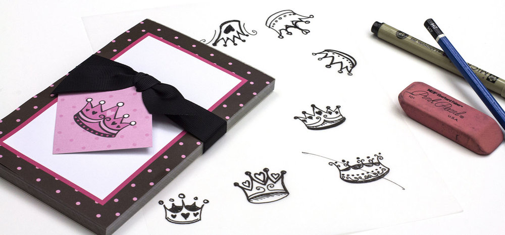 Princess Crown Tag