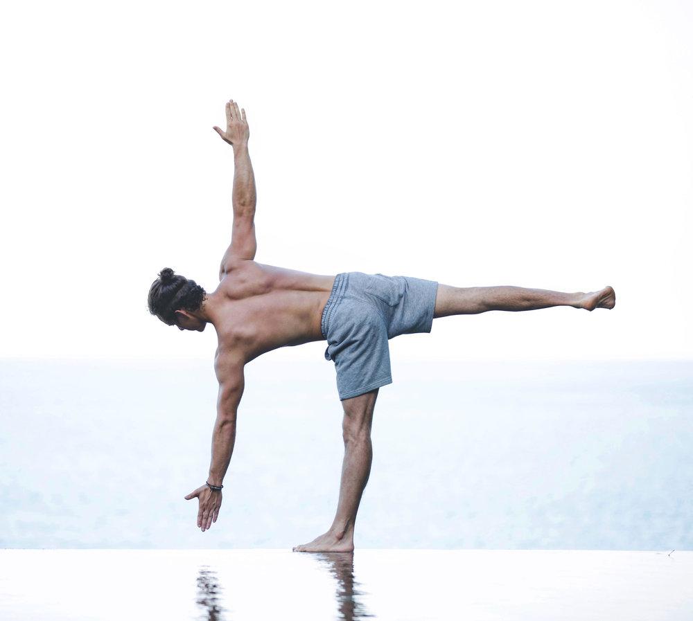Dan Morgan Yoga | DCMLifestyle & Yoga | Yoga Brighton | Ardha Chandrasana