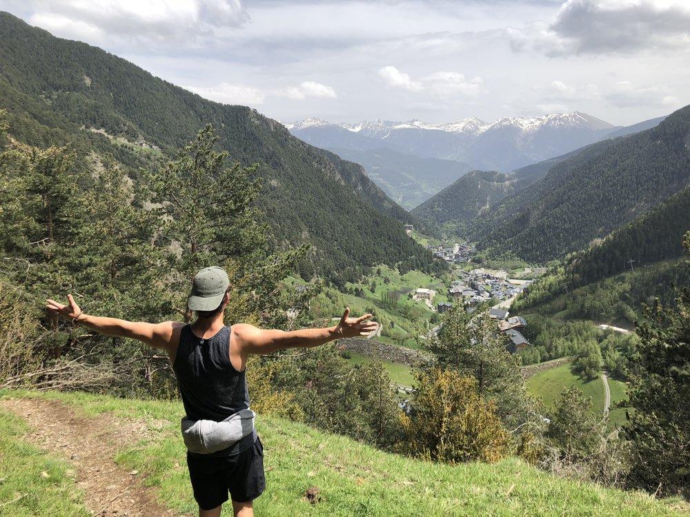 Dan Morgan Yoga | Andorra | National Ski Team