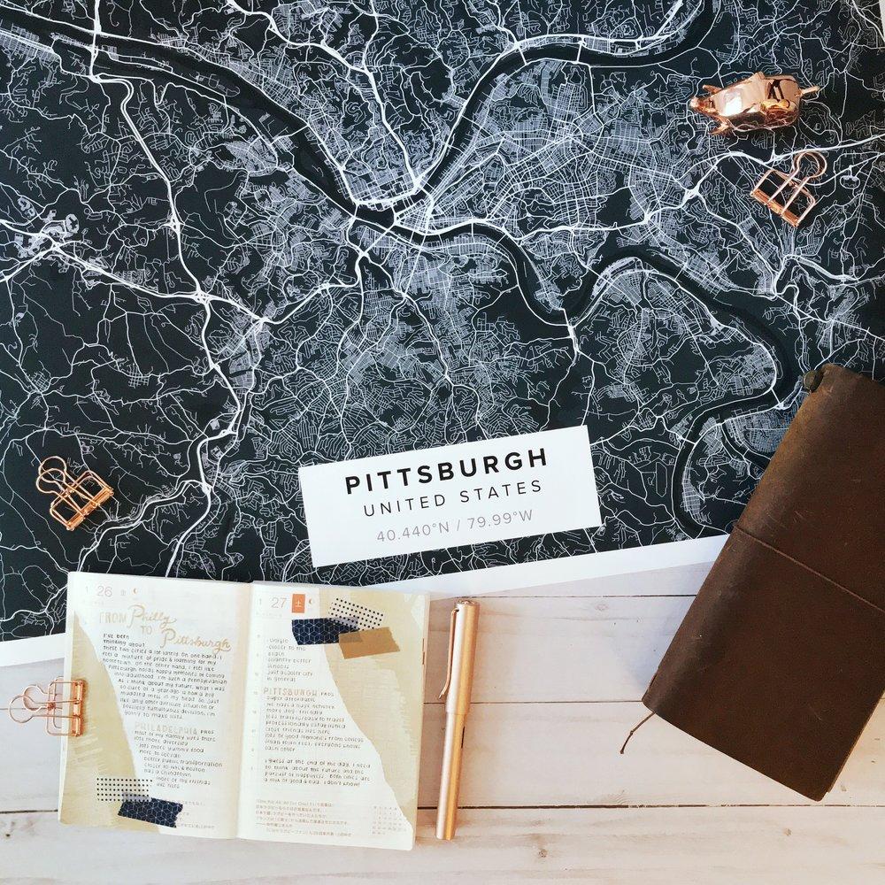 pittsburgh-mapiful-hobonichi-art-journal