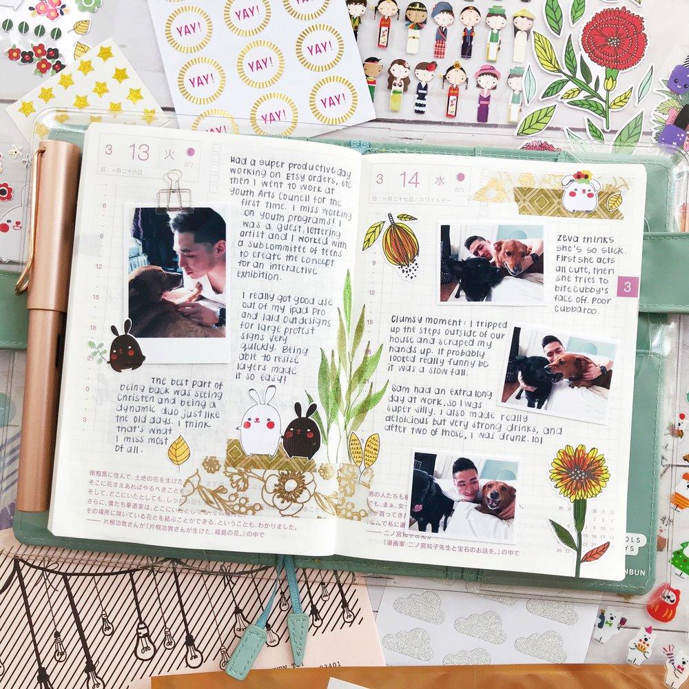 sarica-hobonichi-journal-with-me