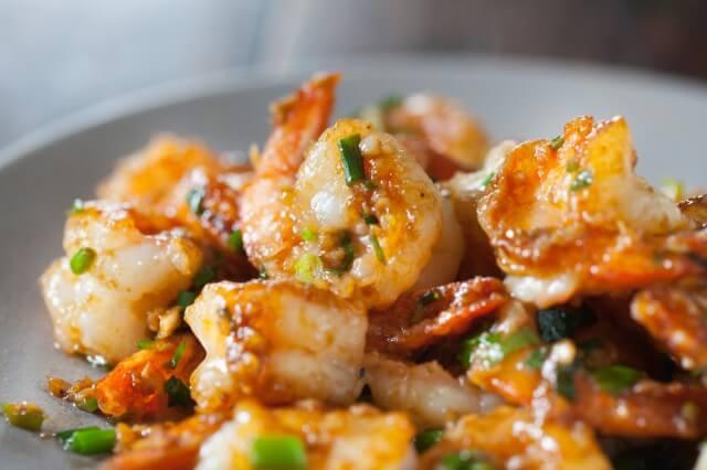 Sauteed Spicy Shrimp