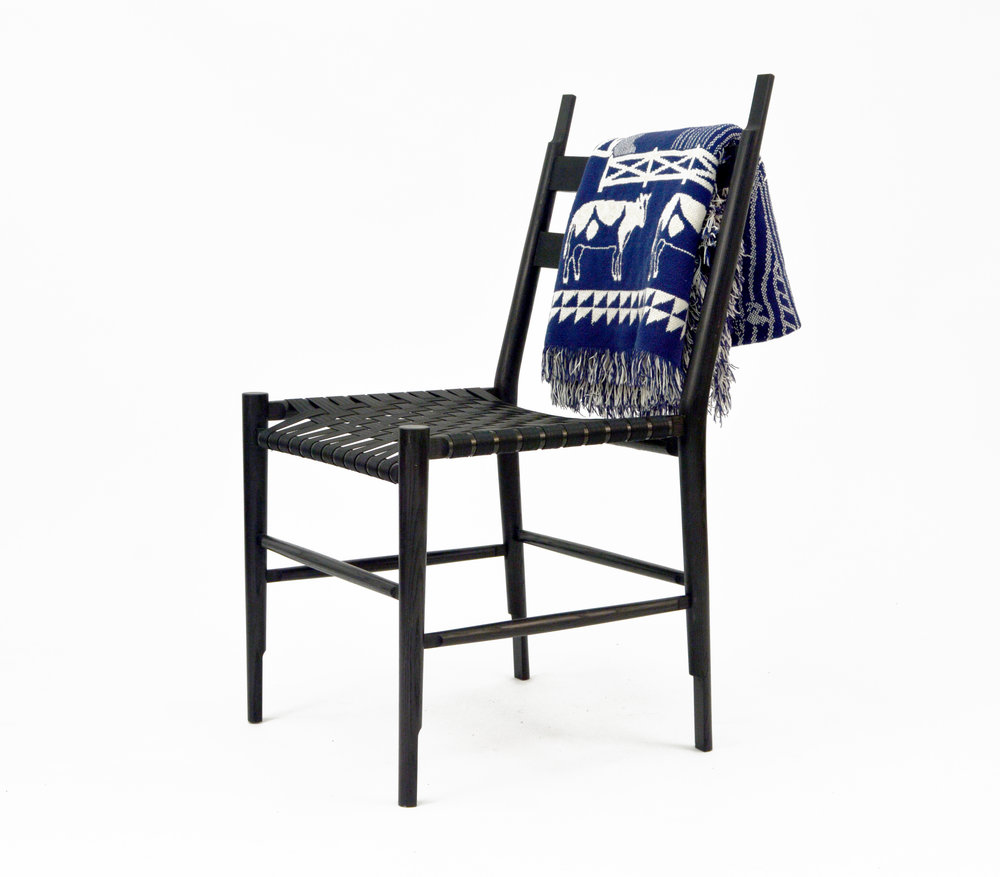 Noir Chair Is A Contemporary Take On The Shaker Chair. The Chair Is  Designed Around