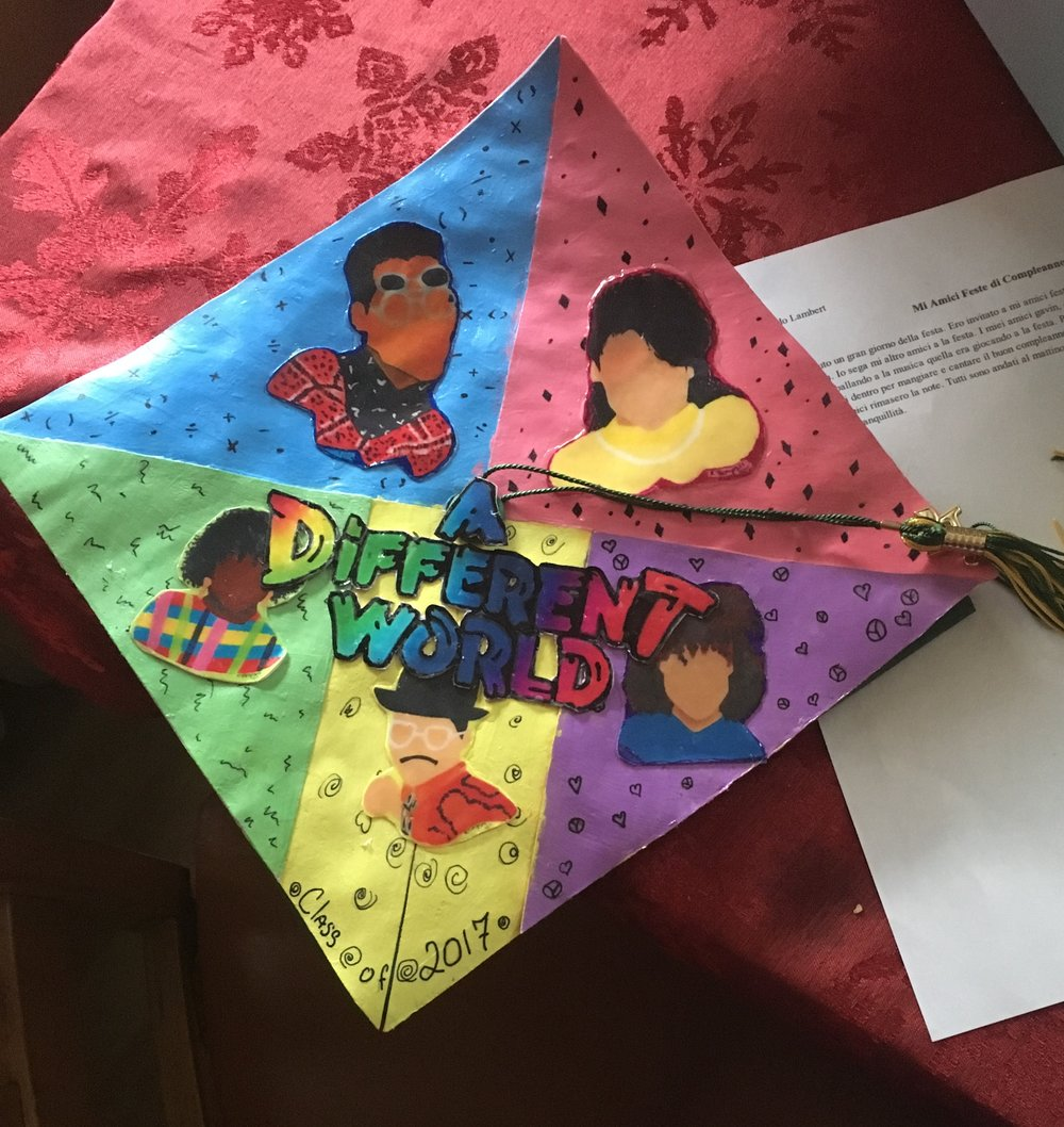 Higher Learning (My high school graduation cap) - Tamari J.jpg (Johnna Lambert).jpg