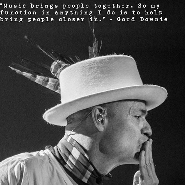 Thank you for continuing to bring us closer, #GordDownie. #musicislife #FxckCancer #tragicallyhip