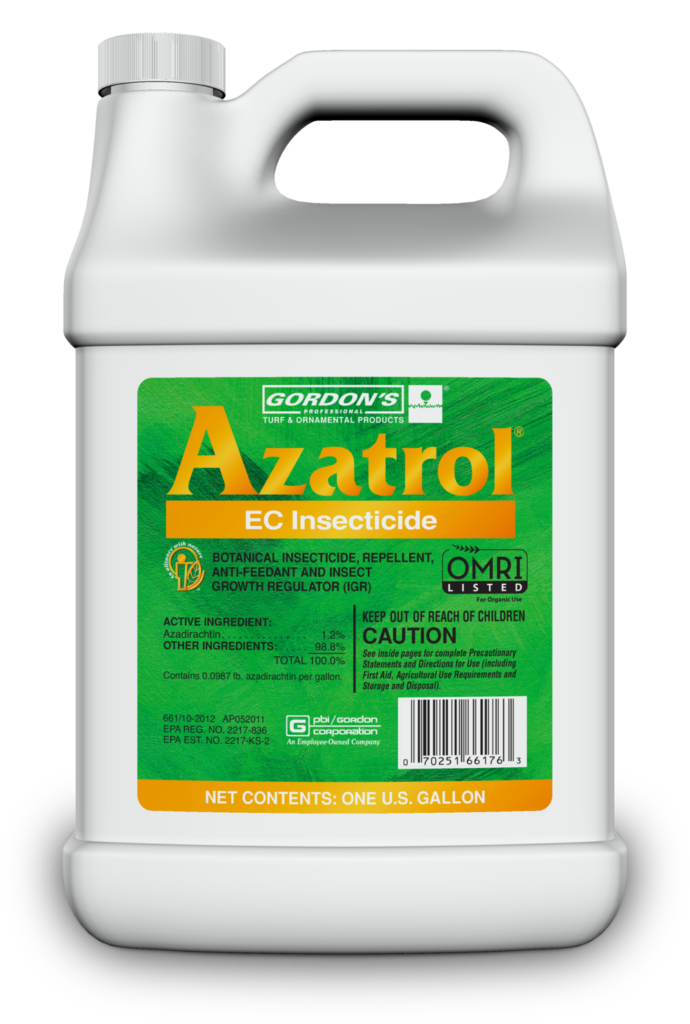 AZATROL TESTED POSITIVE FOR: permethrin, bifenthrin, cypermethrin, cyfluthrin, and chlorphyrifos