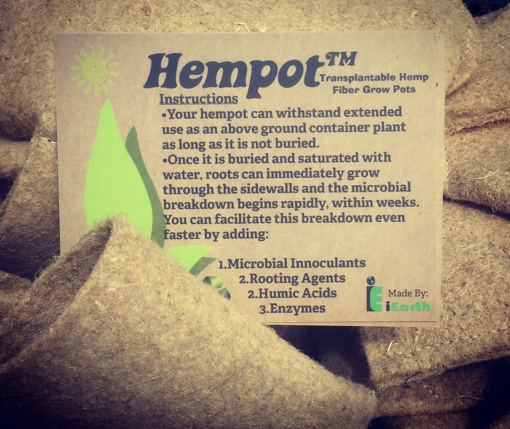 The Hempot™ is the ecological solution