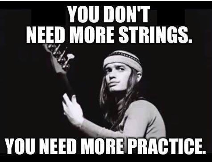 Jaco Pastorius bass player meme