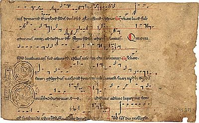 Medieval Music Notation