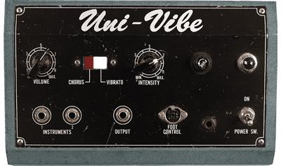 univibe pedal
