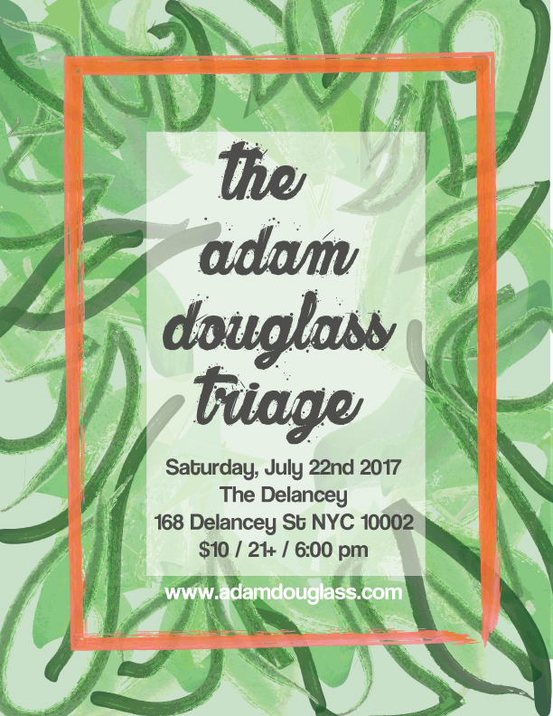 The Adam Douglass Triage at The Delancey NYC