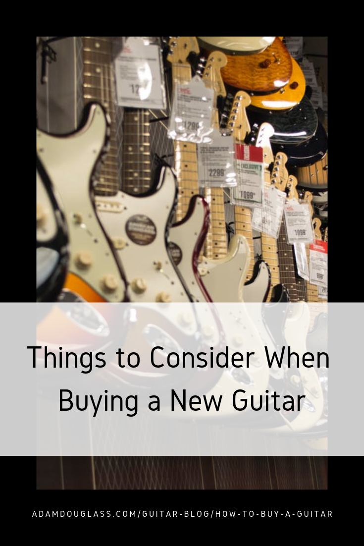 Pinterest Image - How To Buy a Guitar.png