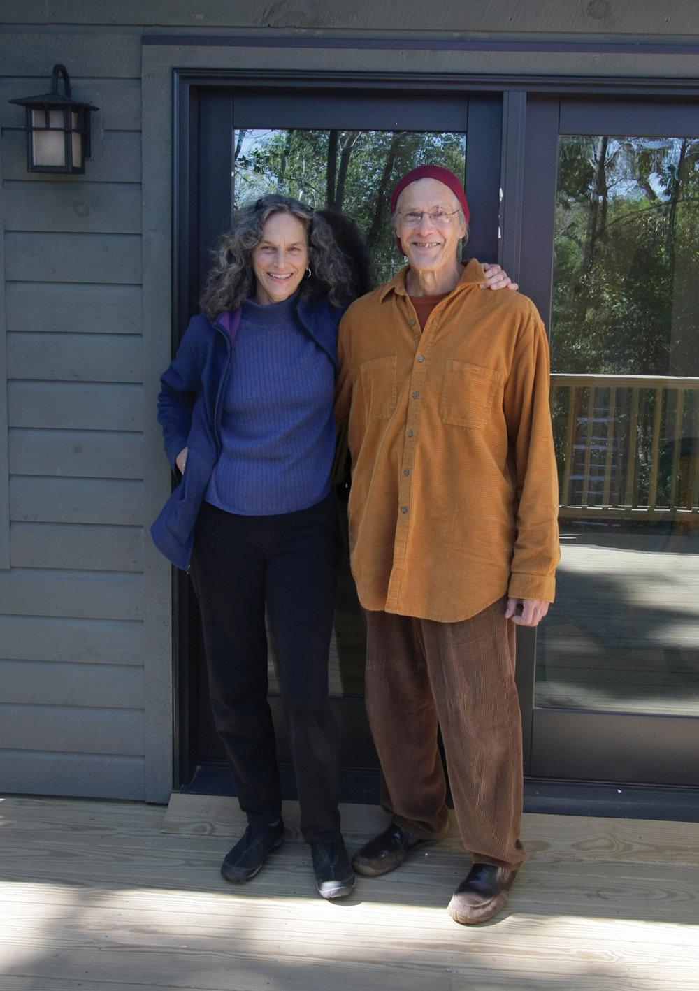 Owl Moon Cottage hosts Joanna Green and Art Godin