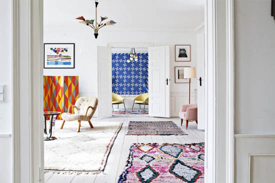 ... Colorful Moroccan Rugs ...