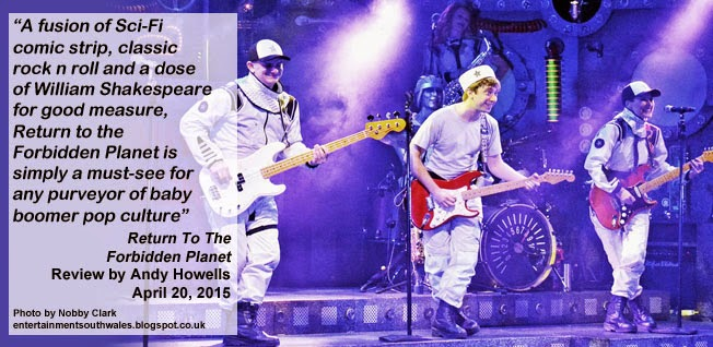 On Stage: Return To The Forbidden Planet, New Theatre, Cardiff