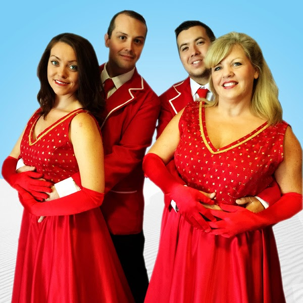 The Cast Of White Christmas.Meet The Cast Of Centrestage Cymru S White Christmas