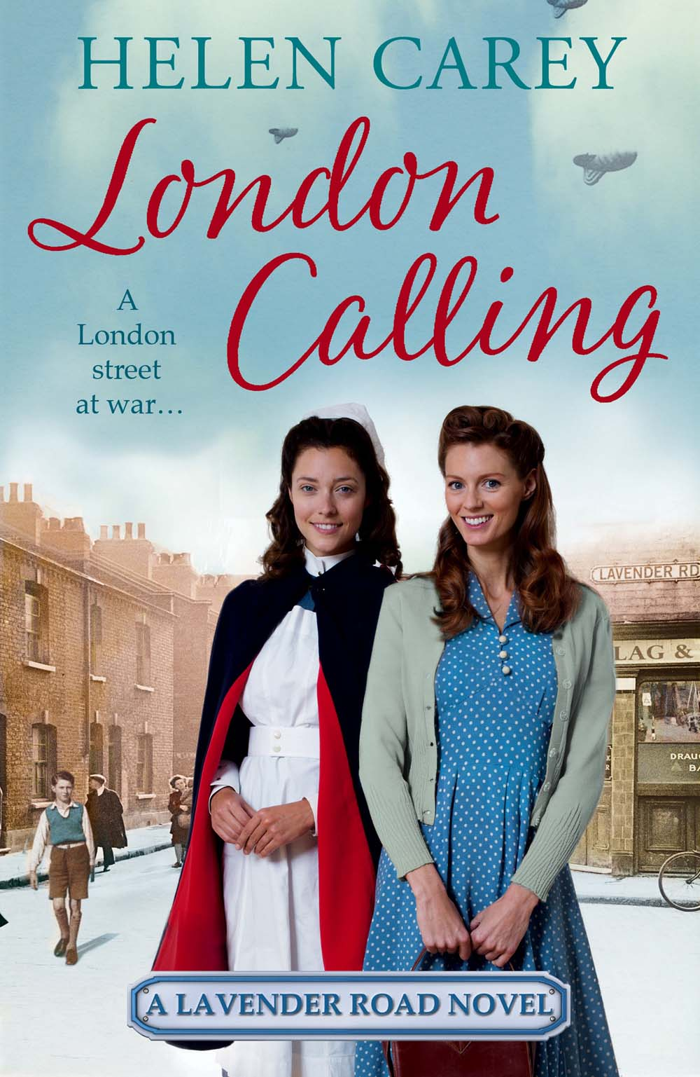 London Calling is Helen Carey's Fourth  Lavender Road  Novel