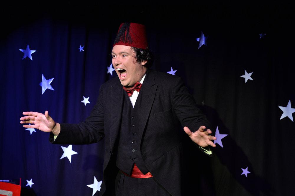 John Hewer as Tommy Cooper Photo: Steve Ullathorne