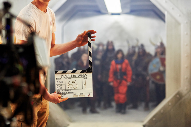 Behind the scenes of Doctor Who at BBC Roath Lock Studios Picture: BBC Cymru Wales