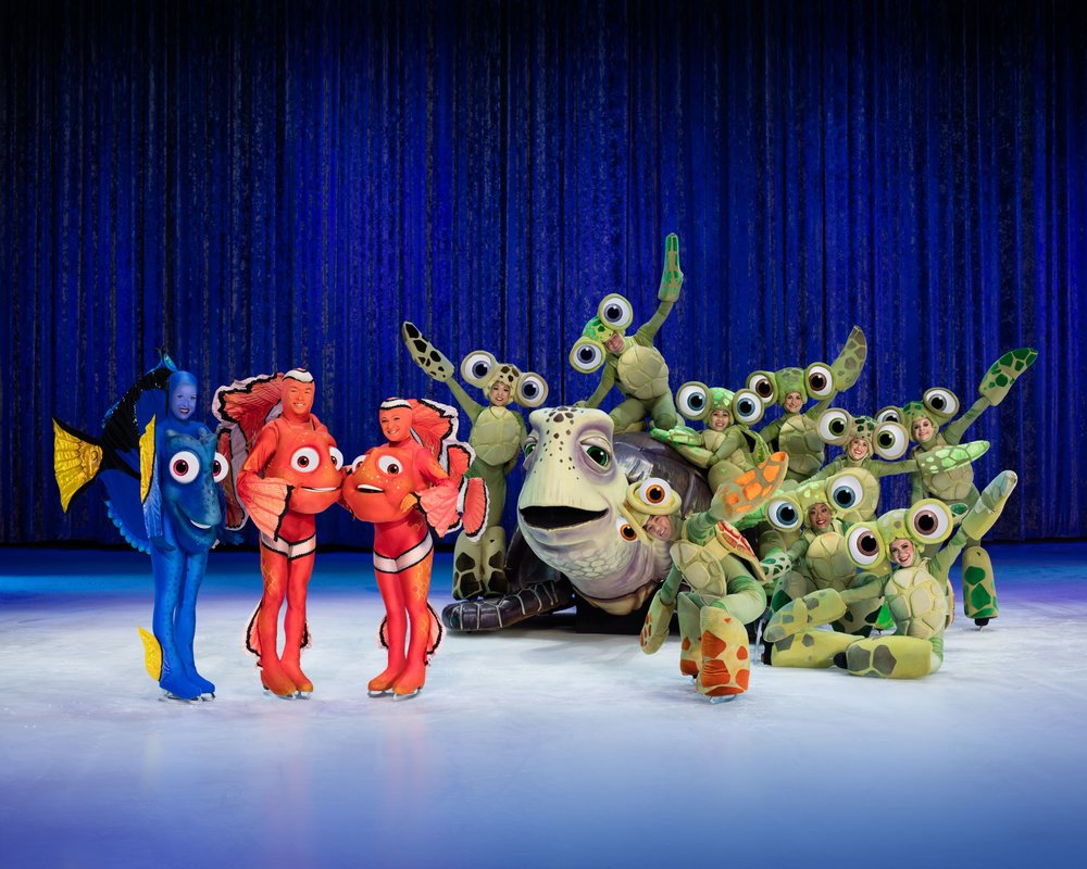 Finding Nemo as featured in Disney on Ice