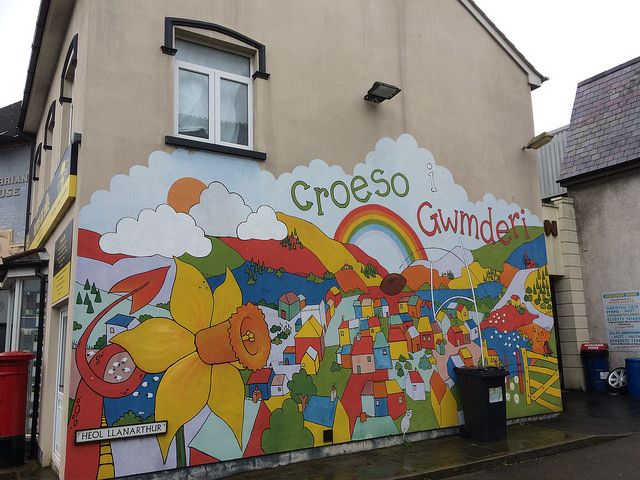 A familiar scene on the Pobol Y Cwm set Photo: Andy Howells