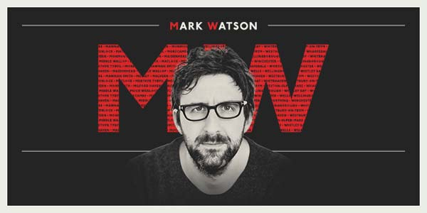 Mark Watson's The MW Tour will visit Merthyr Tydfil, Monmouth and Milford Haven