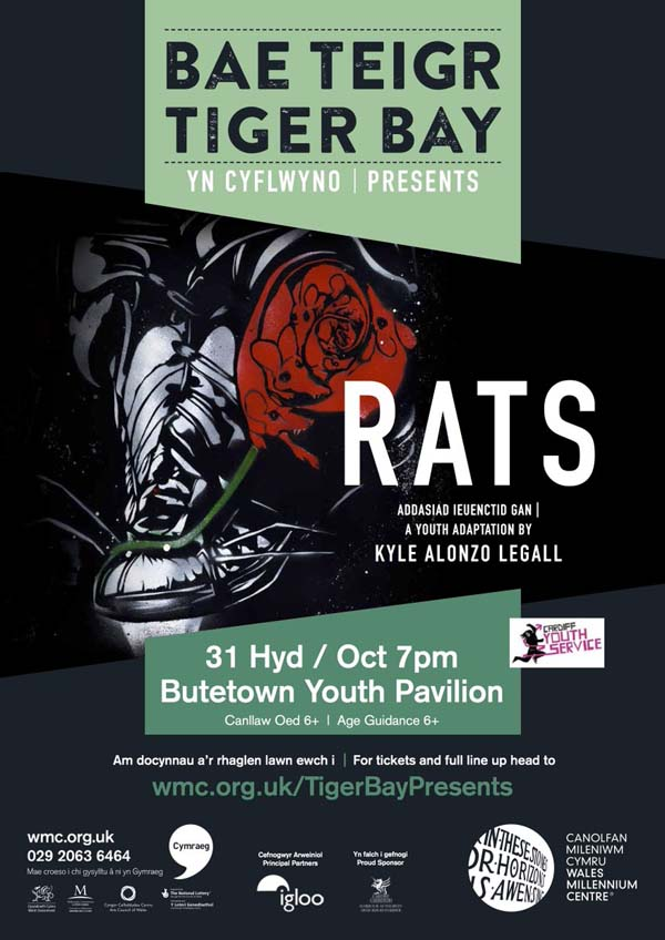 RATS - Rose Against The System will be performed at Butetown Community Centre