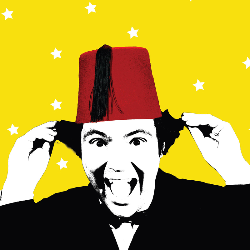 John Hewer recreated classic Tommy Cooper sketches in  Just Like That! The Tommy Cooper Show