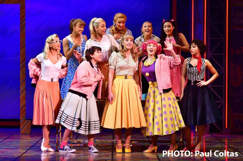 The pop classic musical  Grease , came to Wales Millennium Centre during 2017