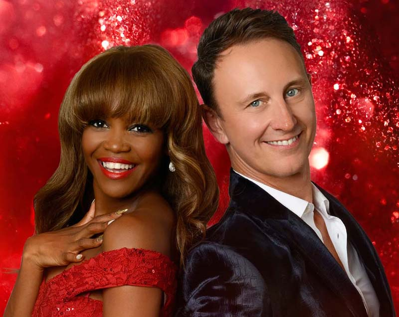 Oti Mabuse and Ian Waite will bring their Rhythm of The Night show to Newport Riverfront