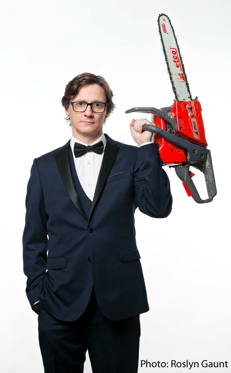 Ed Byrne will bring his Spoiler Alert tour to Treorchy