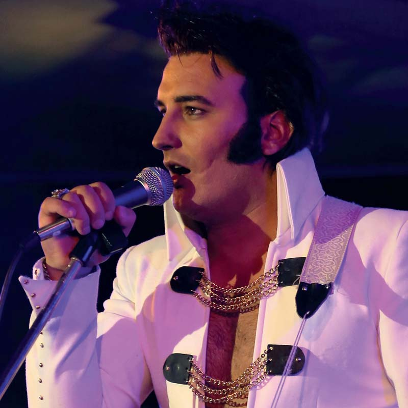 Elvis tribute act, Gordon Davis will perform at Classic Elvis in Cardiff's St David's Hall