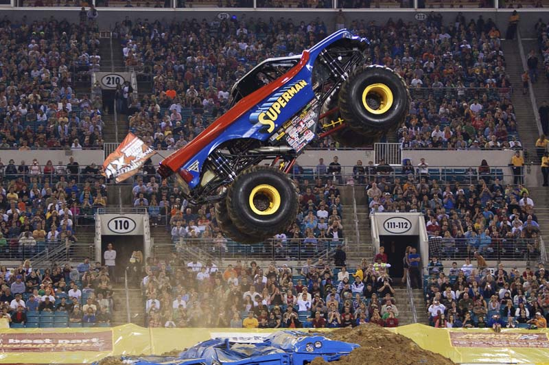Thrills and spills with Monster Jam