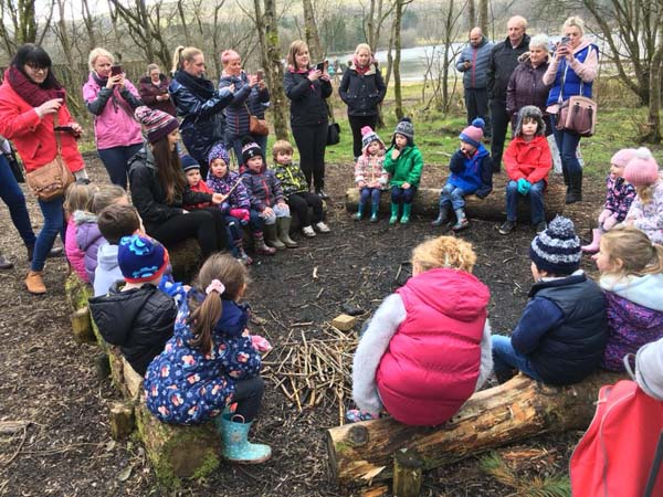 Louby Lou will also be returning with her hugely popular themed Story Trails for children aged 3+ on 11 & 12 April at Bedwellty House & Park,