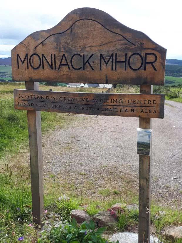 Moniack Mhor, Scotland  Photo: Danielle Fahiya