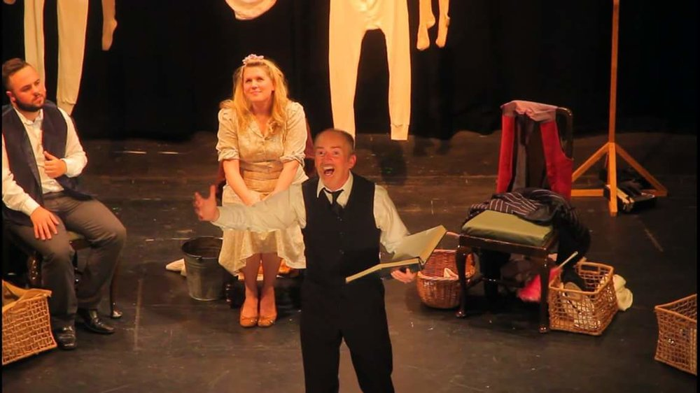 Theatr Silures take to the stage across Wales with several performances of Dylan Thomas' Under Milk Wood.