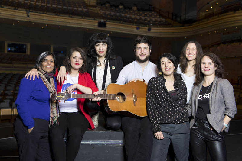 Artists and creatives Kully Thiarai, Carys Eleri, Camille O'Sullivan, Gareth Bonello, Mathilde Lopez, Katell Keineg & Lucy Rivers will all participate in Festival of Voice 2018