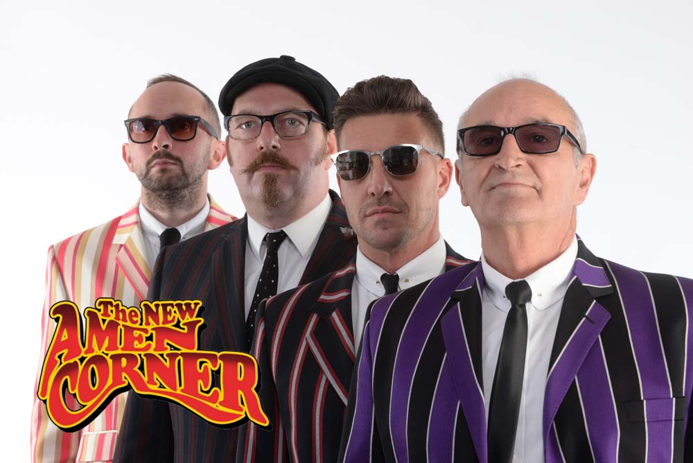 Bringing On Back The 60s featuring 60s revivalists, The New Amen Corner plays swansea Grand on September 5.