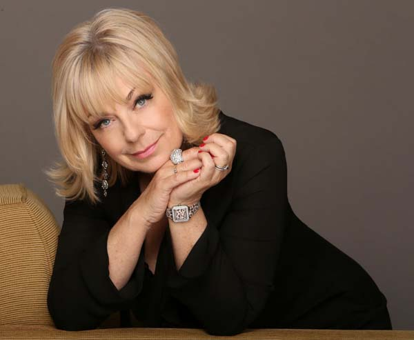 Singing star, Mari Wilson plays Cornbury Festival on July 15, 2018.