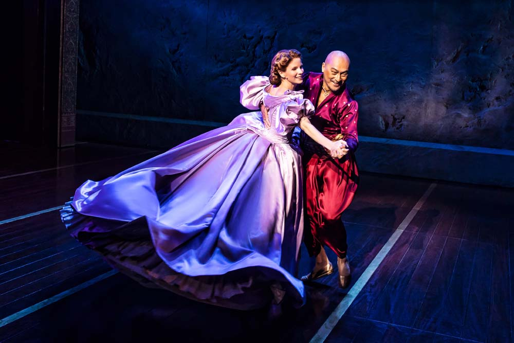 Kelli O'Hara and Ken Waltanare in the West End version of  The King and I,  the musical will go on a UK tour with a yet to be confirmed cast in 2019 Picture: Matthew Murphy.