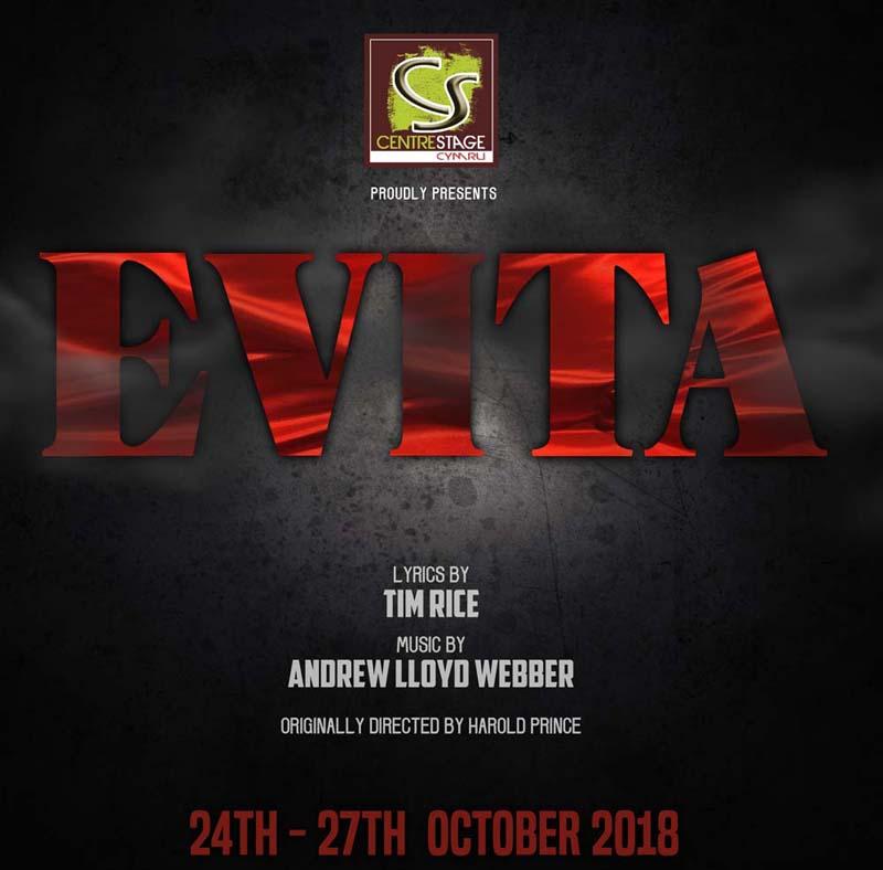 Evita (Centrestage Cymru), Dolman Theatre, October 2018